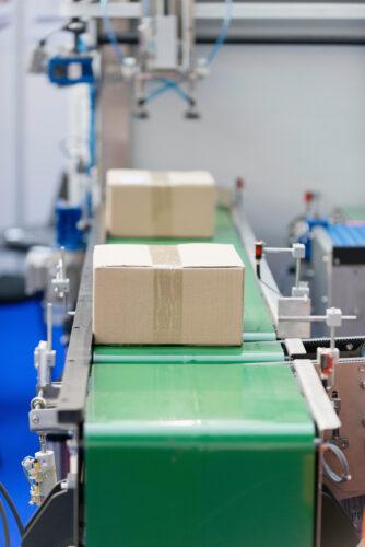 Asset Packaging Belt conveyor